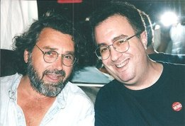 Pop maestro Emitt Rhodes and Pure Pop Radio programmer and host Alan Haber put their heads together in Los Angeles.