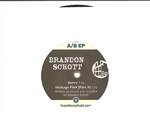 Brandon Schott and Andy Reed's vinyl release, the A-B EP