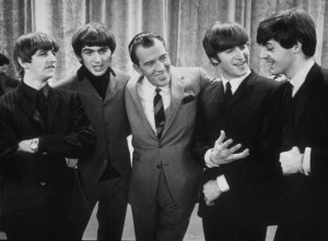 The Beatles and Ed Sullivan!