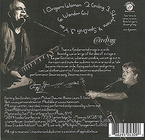 Jamie & Steve's Circling (Back Cover)