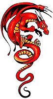 Red Dragon Tattoo?