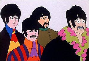 The Beatles in Yellow Submarine