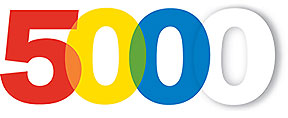 5,000 plus!