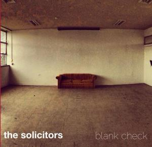 the solicitors - blank check cover