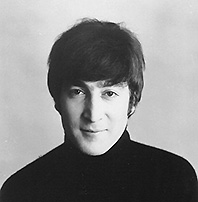 john-lennon-black-and-white-photo