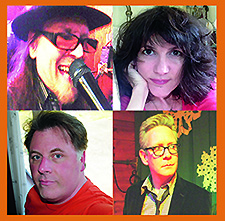 (Pop 4, clockwise from left) Kirk Adams, Andrea Perry, KC Bowman and Scott McPherson