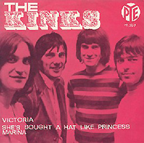 kinks victoria picture sleeve