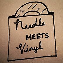 needle meets vinyl