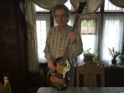 john woloschuk with bass