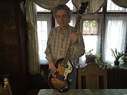john woloschuk with bass