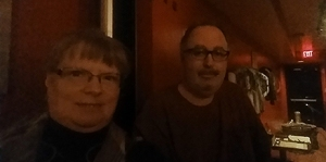 alan and janet selfie