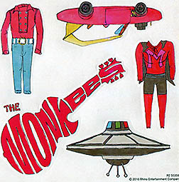 monkees good times stickers