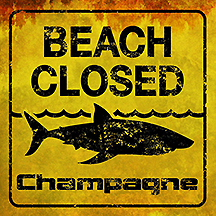 champagne beach closed