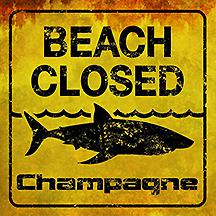 champagne beach closed