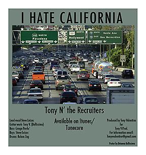 I hate california cover
