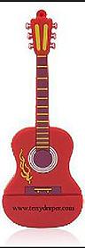 terry-draper-single-red-guitar