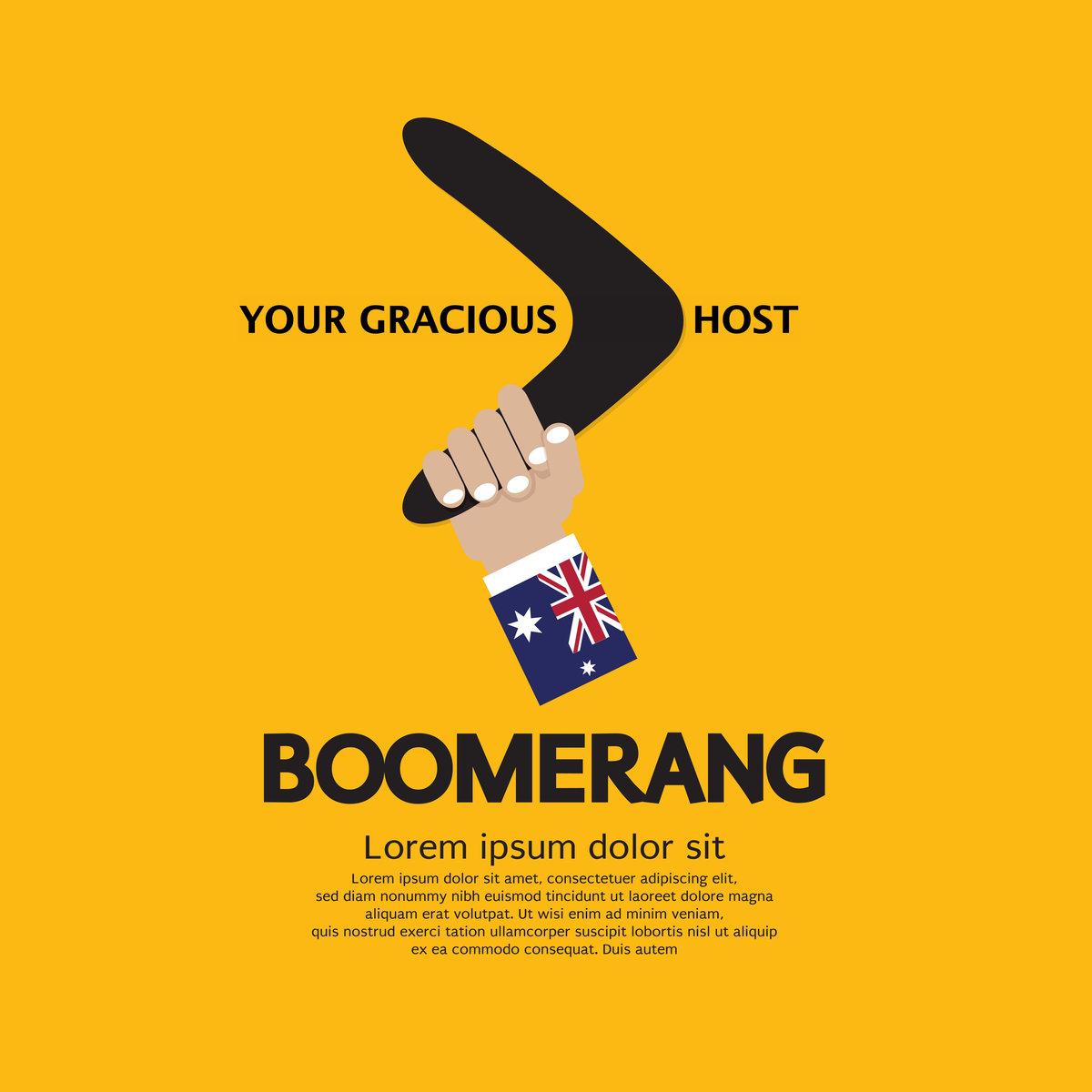 your gracious host boomerang