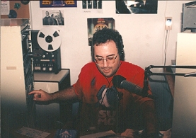 Alan in the studio