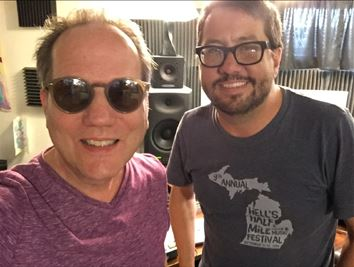 (l to r) Dave Caruso and Andy Reed