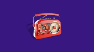 ppr radio purple background