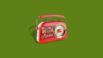 ppr radio green background