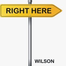 wilson right here single cover