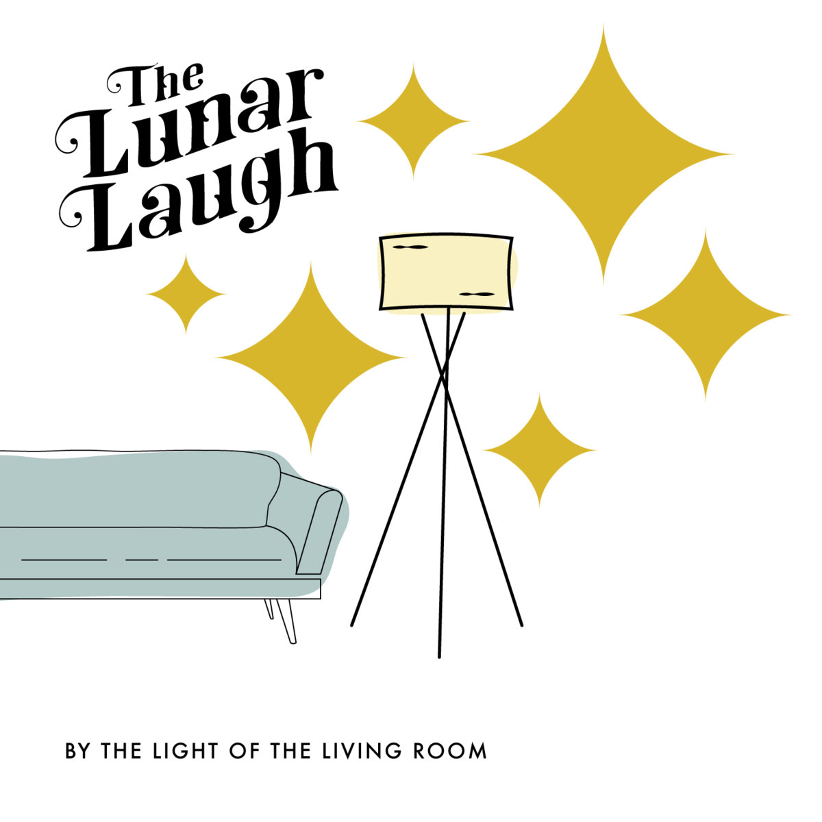 the lunar laugh by the light of the living room cover