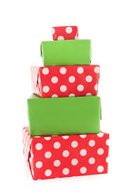 holiday gifts wrapped
